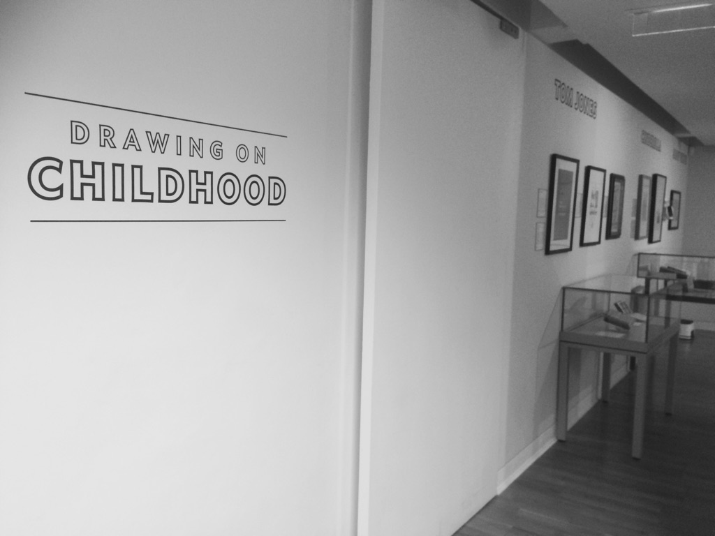 To the Foundling Gallery to see the Children's original works by well known Illustrators
